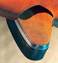 スエーデン鋼の刃材