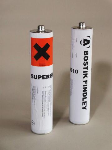 使用ホットメルト: ボスティック・ホットメルト スーパーグリップ9810