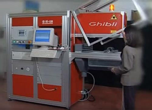 レーザー加工機 GHIBLI