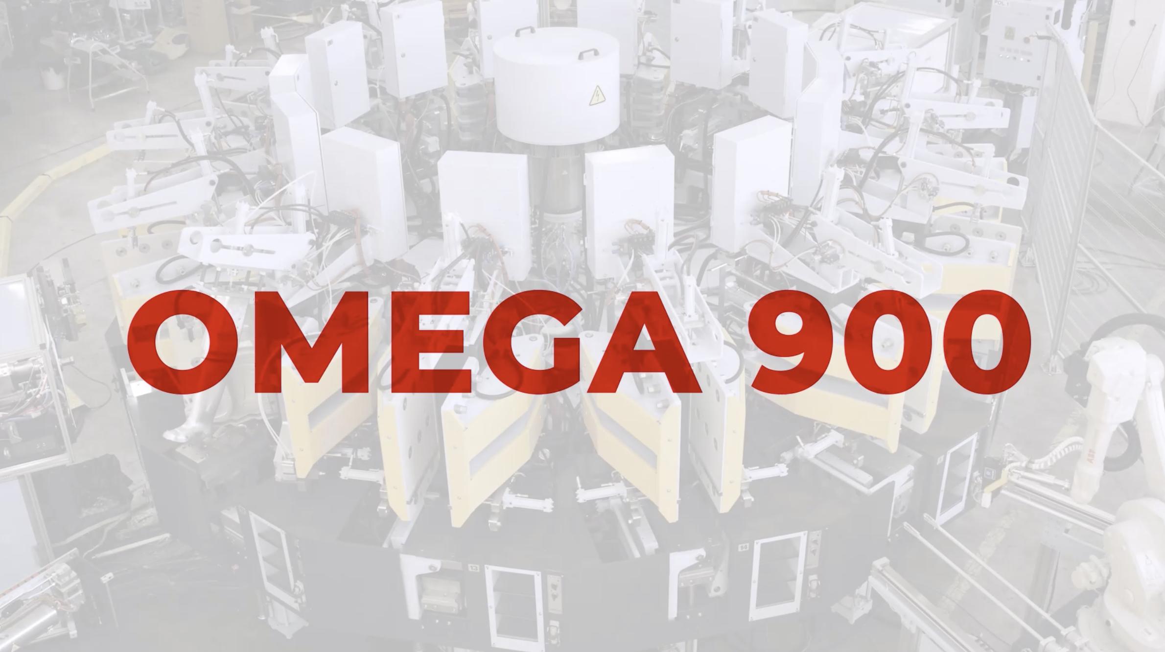PU 長靴成型機 OMEGA 900